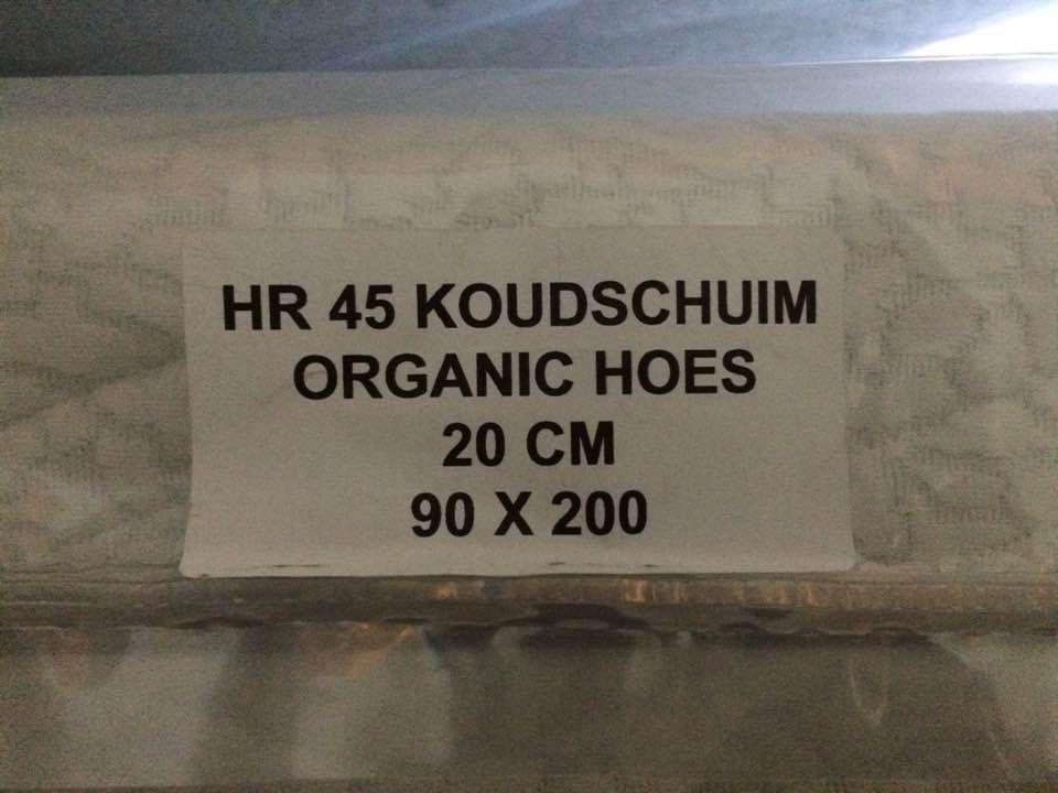 HR 45 koudschuim biokatoenen tijk