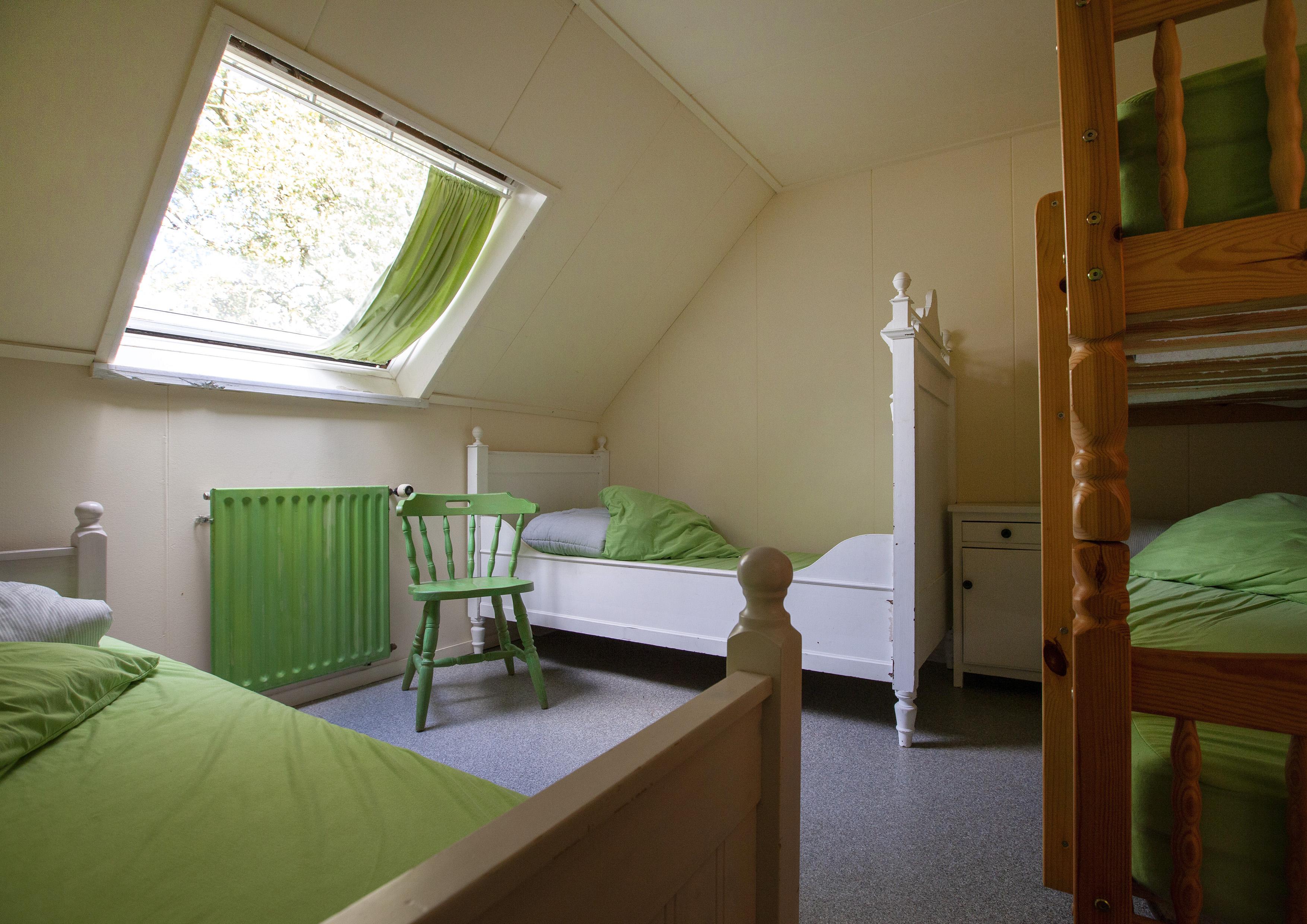 17 groene kamer
