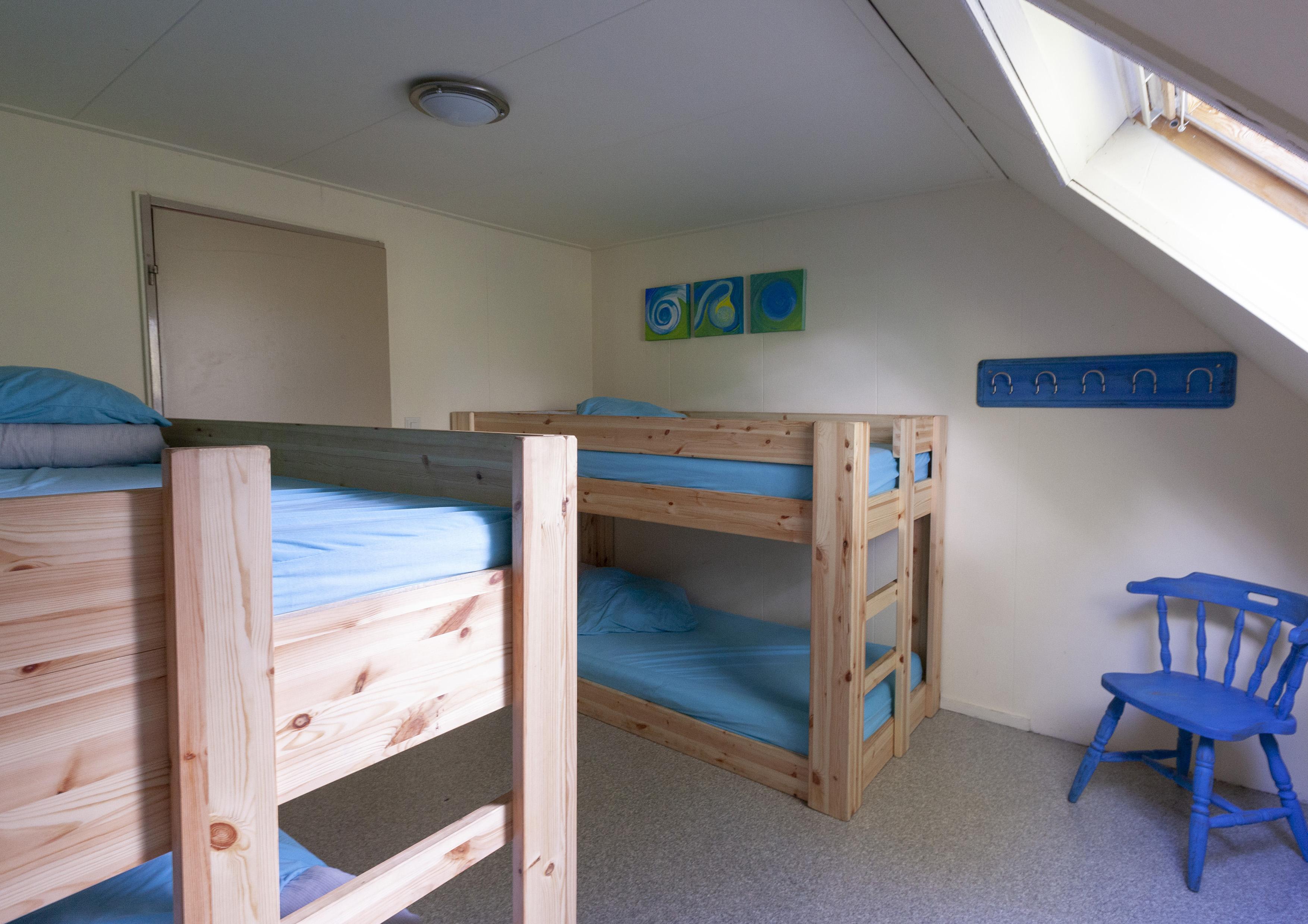 19 licht blauwe kamer
