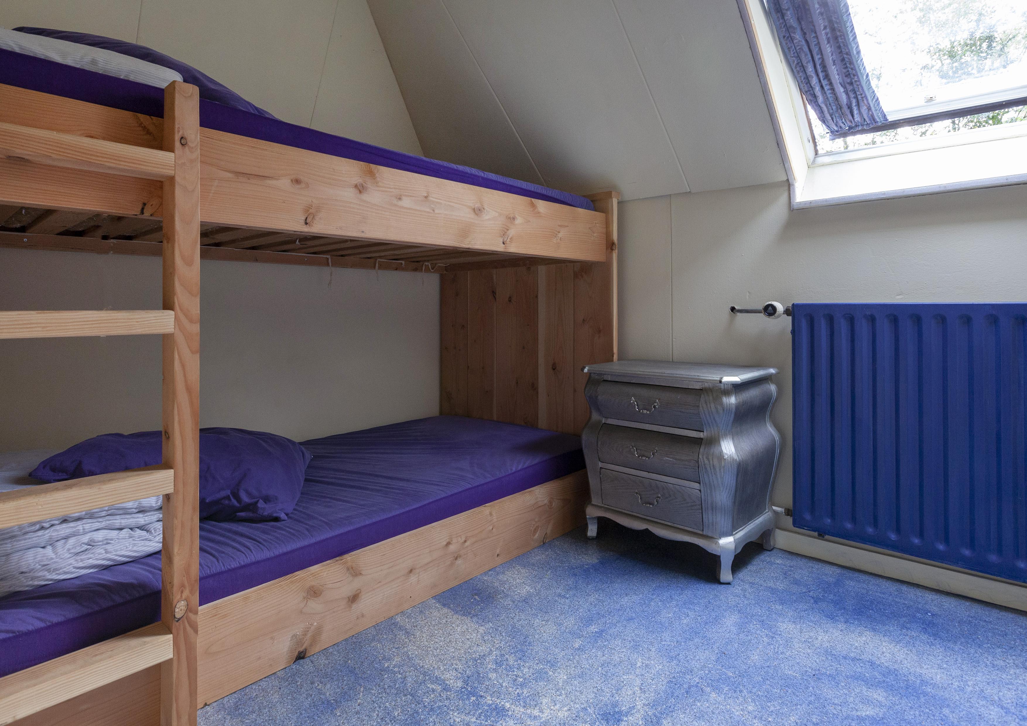 20 donker blauwe kamer